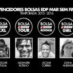 Vencedores Bolsas EDP Mar Sem Fim 15-16