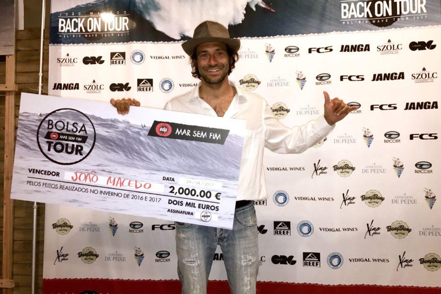 João de Macedo vence Bolsa EDP Tour