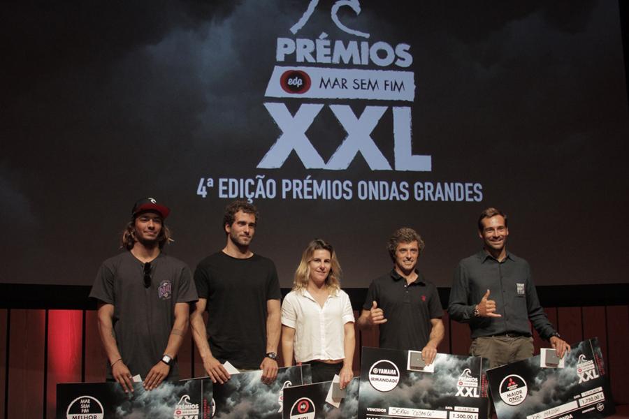 Cerimónia dos Prémios XXL EDP Mar Sem Fim distingue surfistas portugueses de ondas grandes